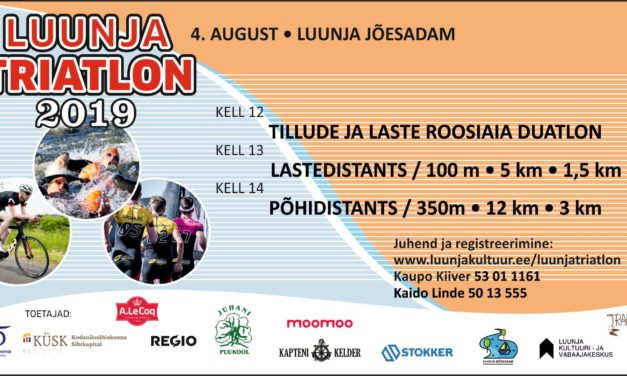 Luunja Triatlon 2019