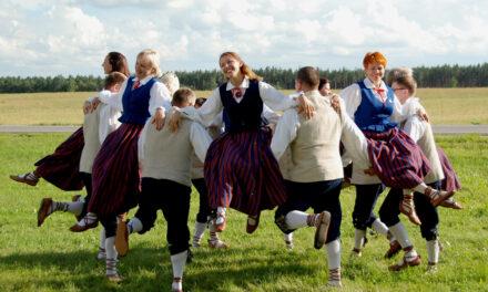 Trambali tervitus Luunja valla rahvale rahvusvahelise tantsupäeva puhul!